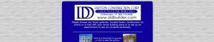 Screen shot of DD Builder web site
