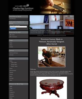 Charles Ogg Furniture Screenshot